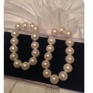 Jewelry - Pearl (faux) Stretch Bracelets $5 ea.